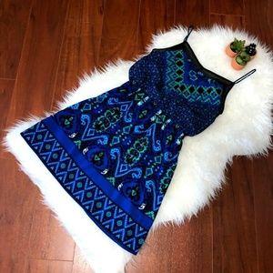 Express Dress Size XS Spaghetti Strap Multicolor